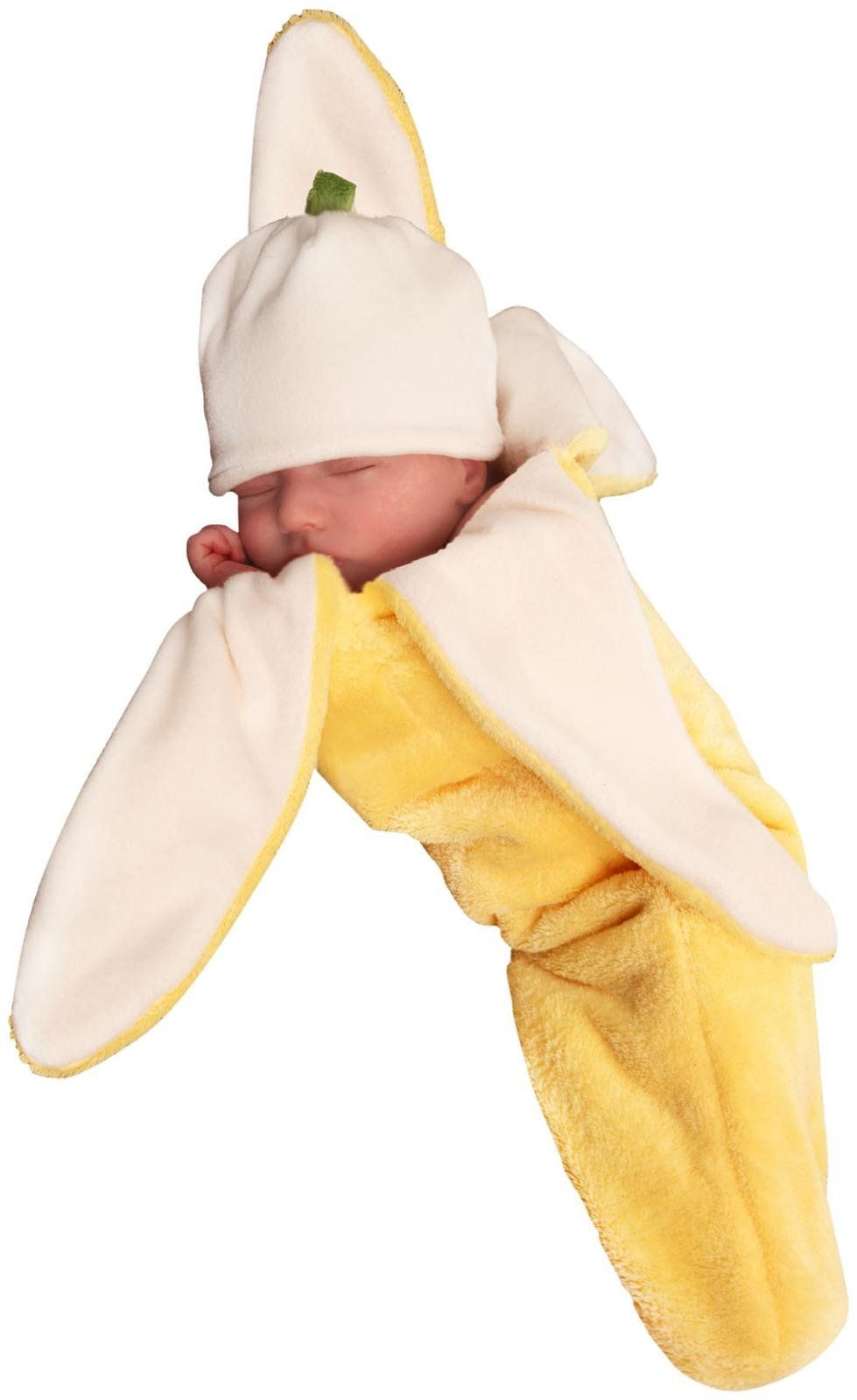 because why not dress up your little munchkin as a banana for