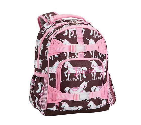 Mackenzie Chocolate Unicorn Backpacks Backpacks Kids