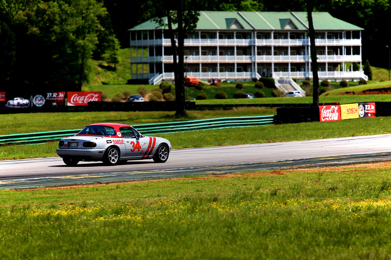 Mazda Miata Race car at @VIRnow