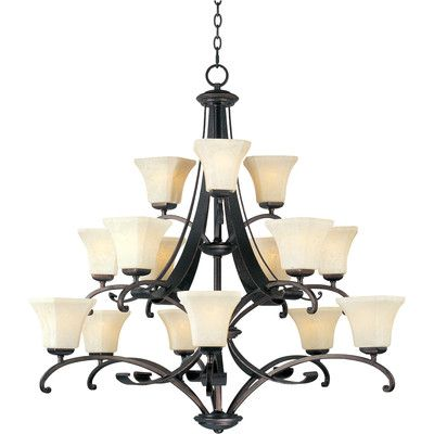 Darby Home Co Cottrell 15 Light Shaded Chandelier Products