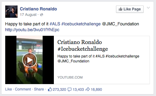 The person who posted every single ALS Ice Bucket Challenge video they saw. | 21 People That You Probably Unfriended On Facebook In 2014