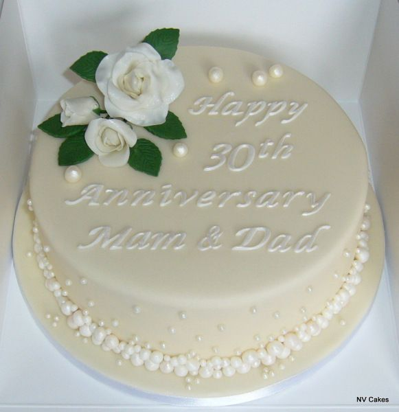 Th Wedding Anniversary Cake Ideas