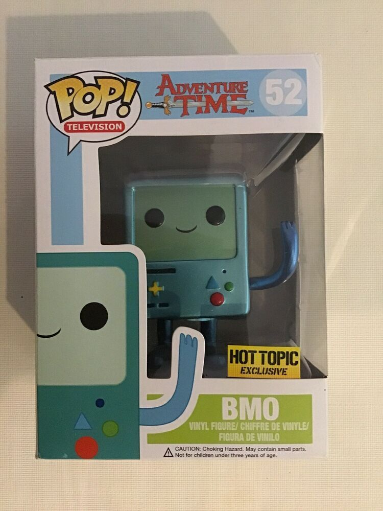 Funko Pop Adventure Time Metallic Bmo 52 Hot Topic Exclusive Afflink Contains Affiliate Links When You Click On Links To Various Hot Topic Funko Funko Pop