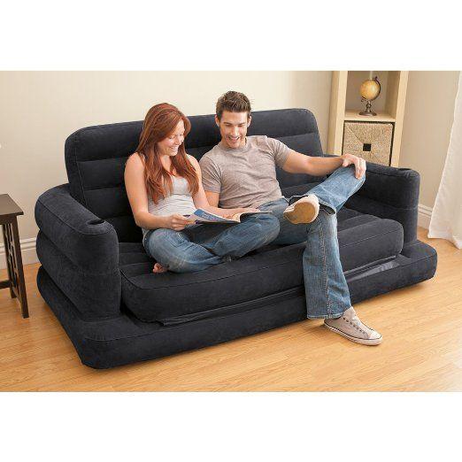 Fantastic Amazon Com Intex Pull Out Sofa Inflatable Bed 76 X 91 X Inzonedesignstudio Interior Chair Design Inzonedesignstudiocom
