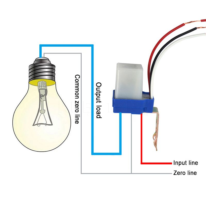 Photocell Wiring Diagram Uk