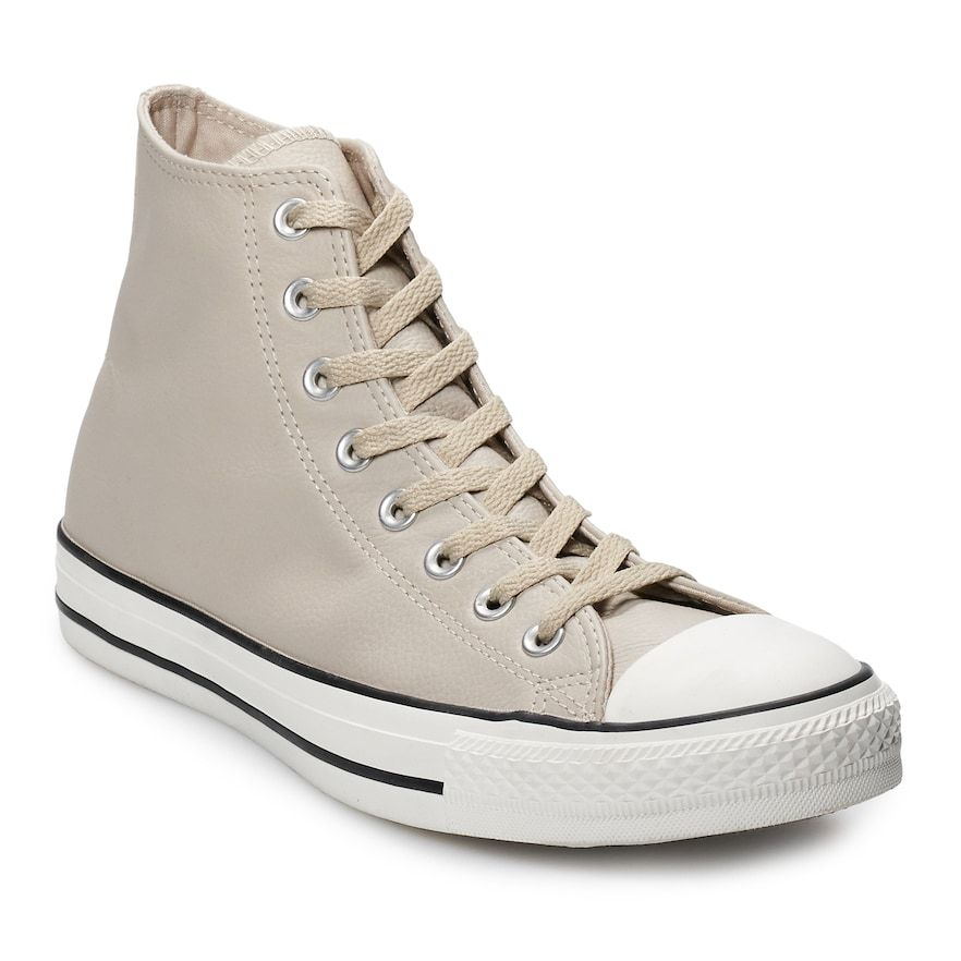 cd272b18673 Men s Converse Chuck Taylor All Star Leather High Top Shoes