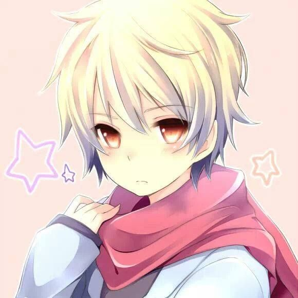 Blonde Haired Anime Amber Eyes Scarf Noragami Anime Yukine