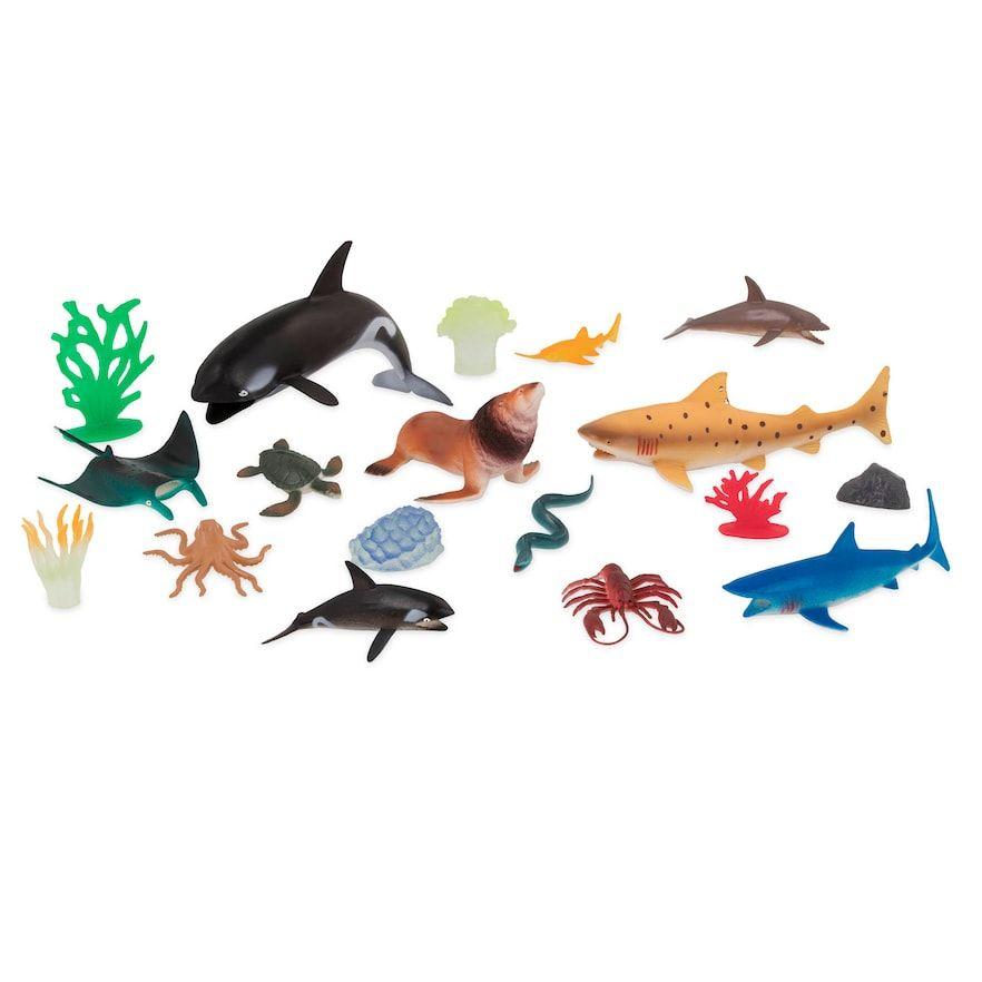 Terra By Battat Marine World Sea Life Set Sea Life Pet Toys Animal Figures