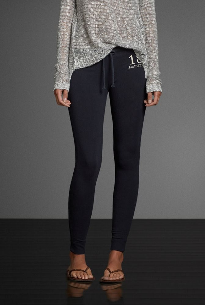 136c0dcc11 A&F Super Skinny Sweatpants These are super comfortable and are almost like  leggings, just a tiny bit thicker.