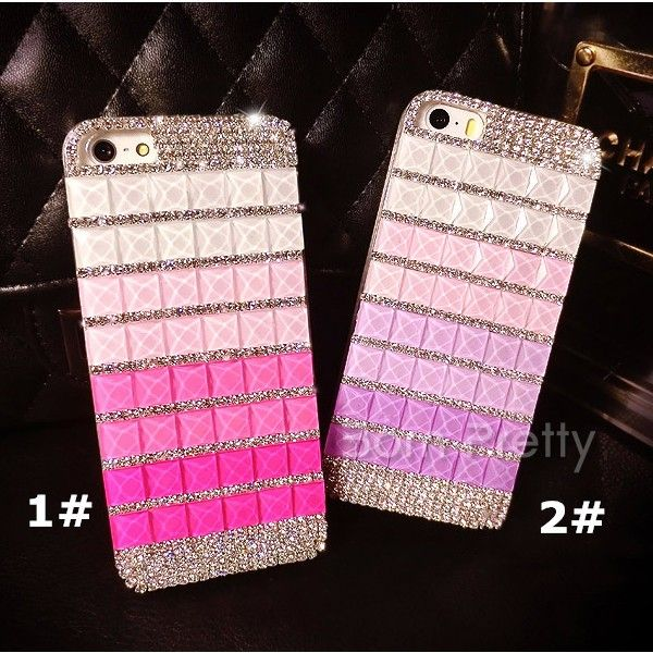 Super cute phone case. Use my code ANGELIQUEC10 to save 10% @BornPrettyStore, Stylish Color Changing Square Rhinestoned Des... at $16.00. http://www.bornprettystore.com/-p-17003.html