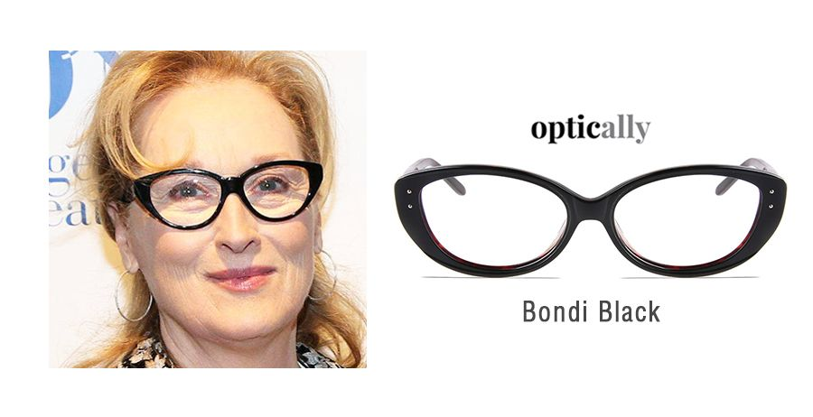 ed432480e2a Meryl Streep glasses at Optically. Read our latest blog post and try some  trendy designer