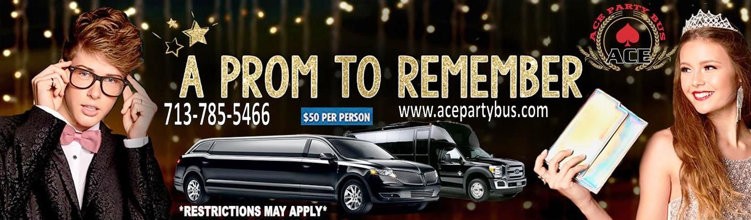 Ace party bus features prom transportation special for