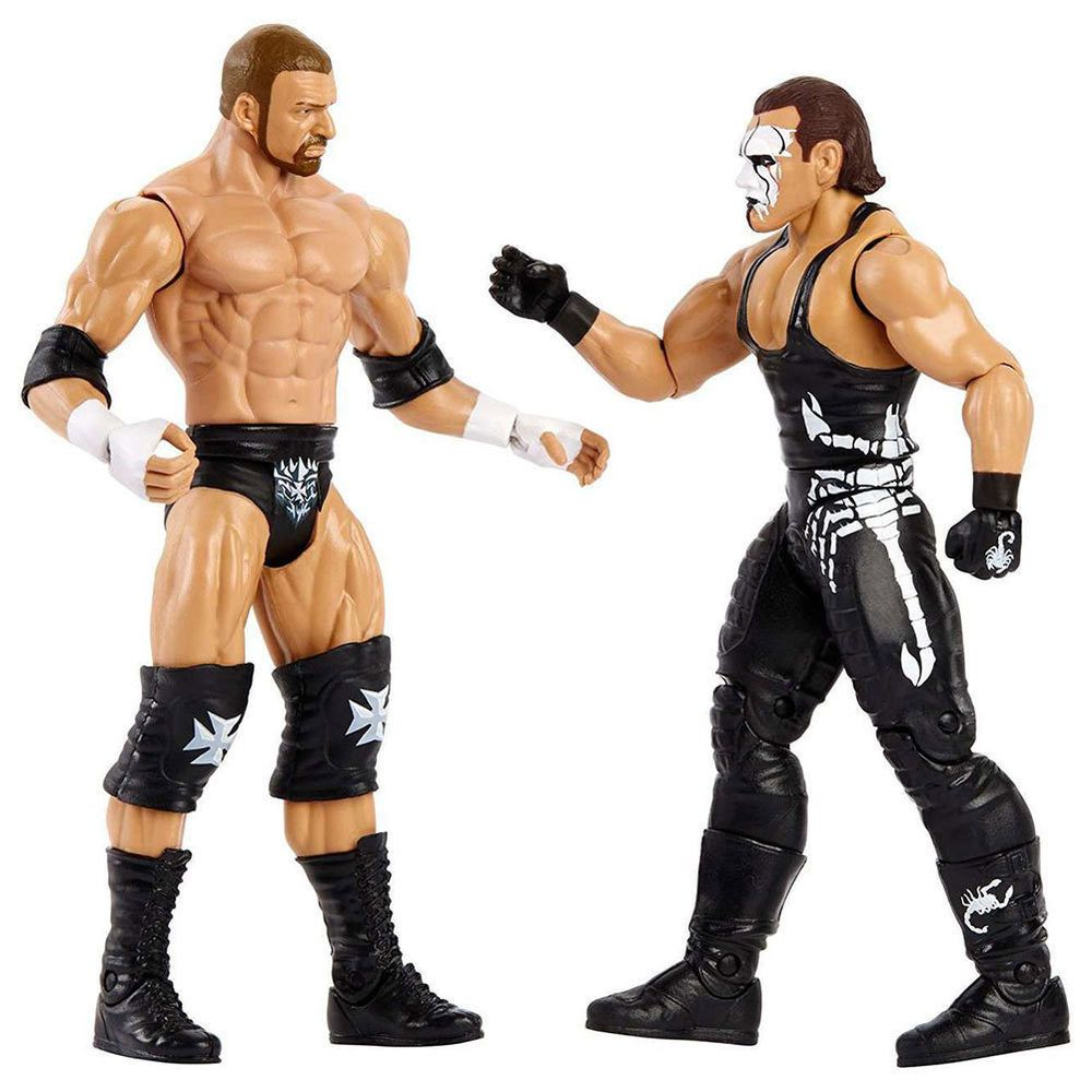 Official WWE Authentic Sting & Triple H WrestleMania 34