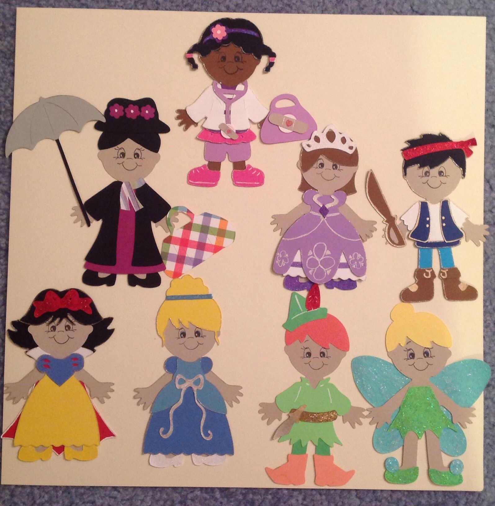 How to Make Personal Paper Dolls