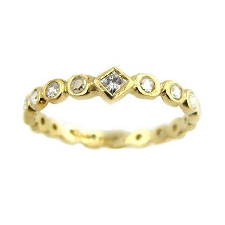 Dainty Crown Diamond Ring Handmade Designer Wedding Rings Turtle