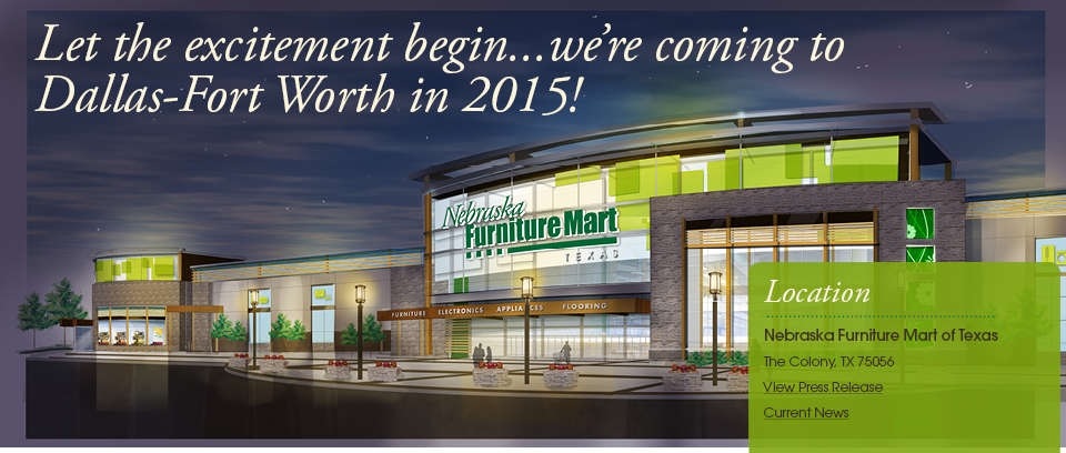 Nebraska Furniture Mart Will Bring Furniture And Thousands Of Jobs