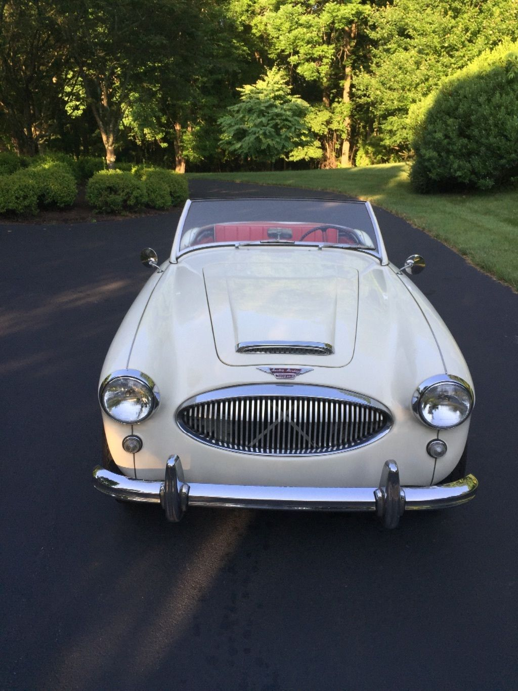 Austin Healey 3000 Bt 7 2x2 With Operating Electric Overdrive