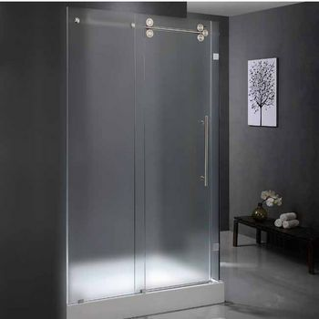 Vigo 36 X 48 Frameless 3 8 Glass Shower Doors Glass Shower
