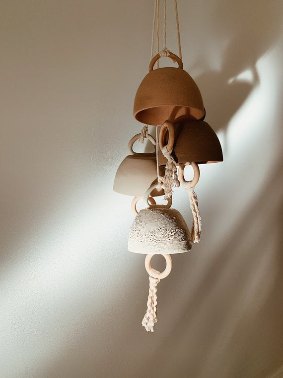 Ceramic Bells Etsy In 2020 Ceramic Bell Bells Ceramics