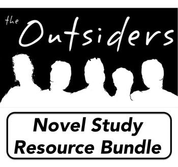 Outsider Novel Study Resource Bundle Pre Reading Activitie Studie Activities Essay On The Outsiders