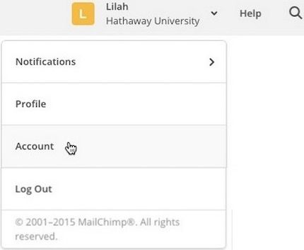 Add or Remove a Signup Form on Your Facebook Page MailChimp