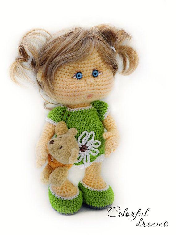 Crochet pattern Nina by DollPatternsShop on Etsy | Crochet ...
