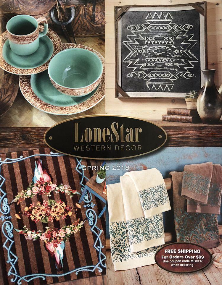 Lonestar Western Home Decor Catalog