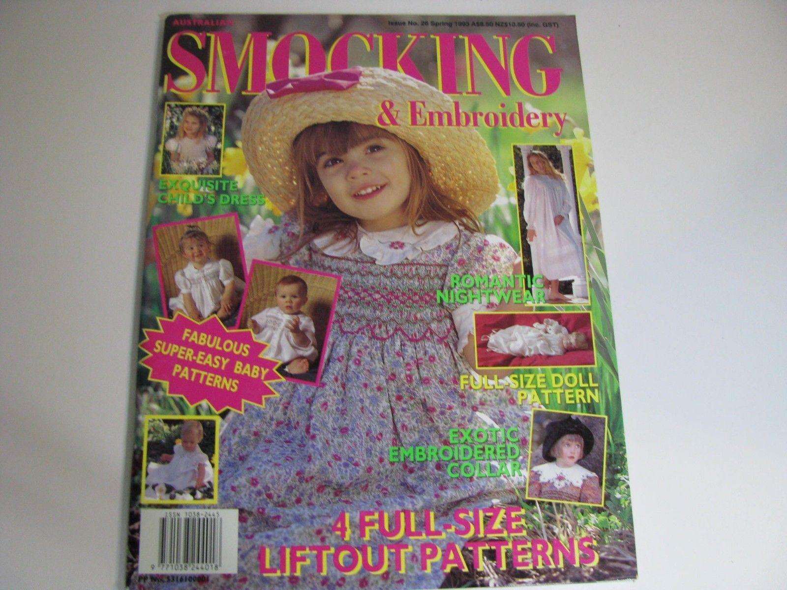 Issue 26 - Australian Smocking & Embroidery Magazine