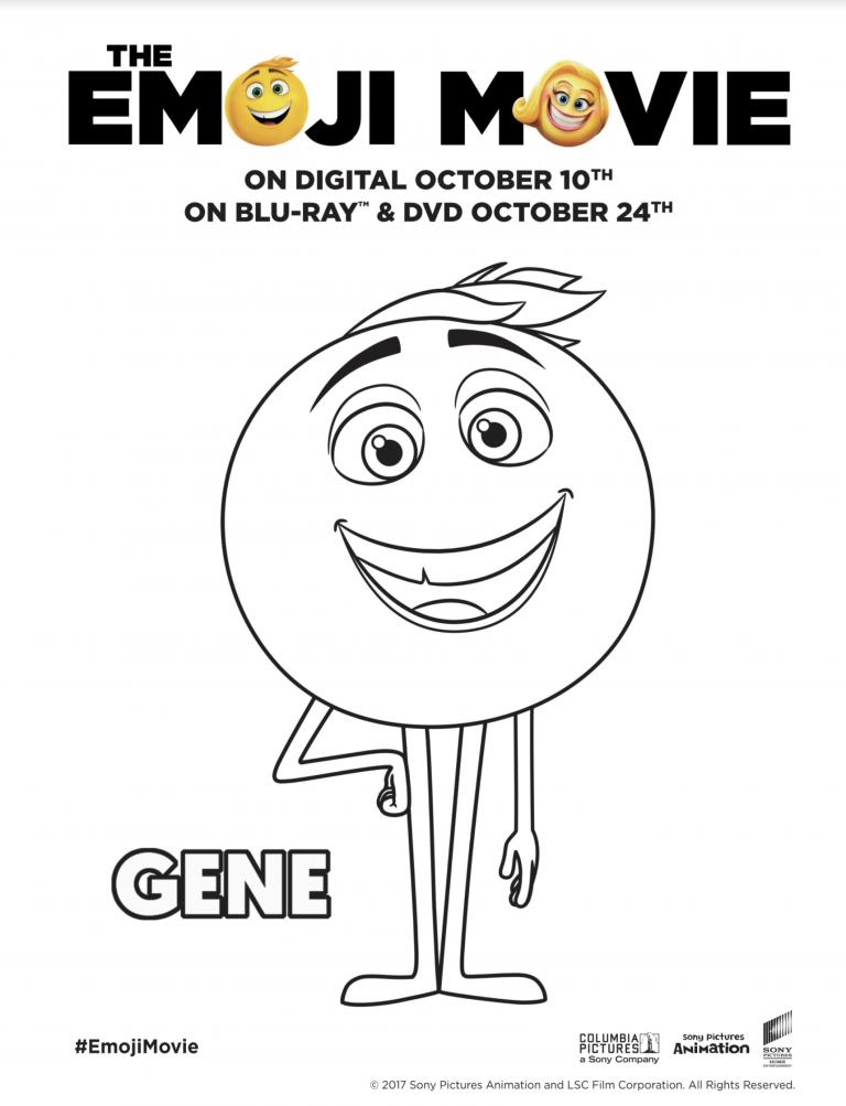 The Emoji Movie Printables Emoji Movie Emoji Coloring Pages