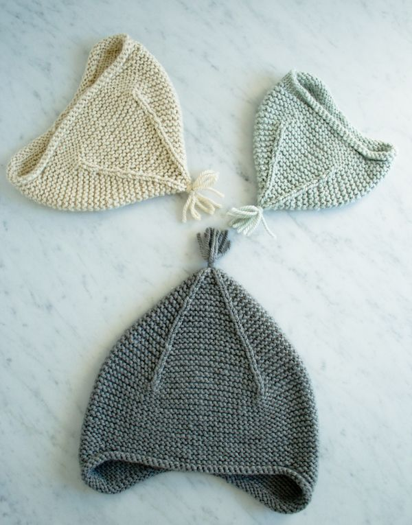 Garter Ear Flap Hat | Pinterest | Stricken, Strickideen und Stricken ...