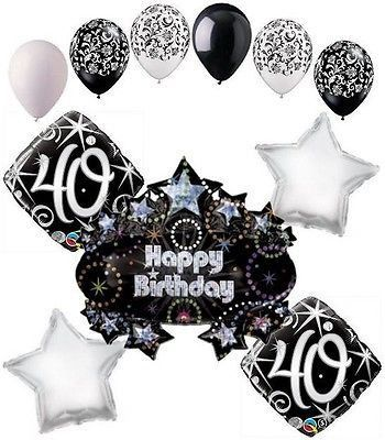 Adult Birthday Balloon Bouquet Over The Hill Birthday Balloons