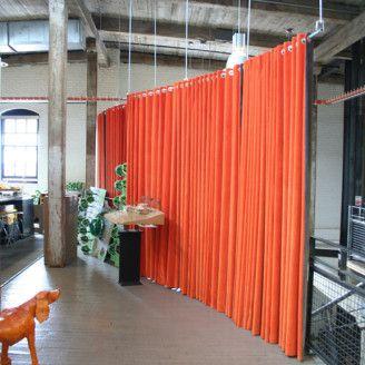 Hanging Room Dividers Room Dividers Orange Floor To Ceiling