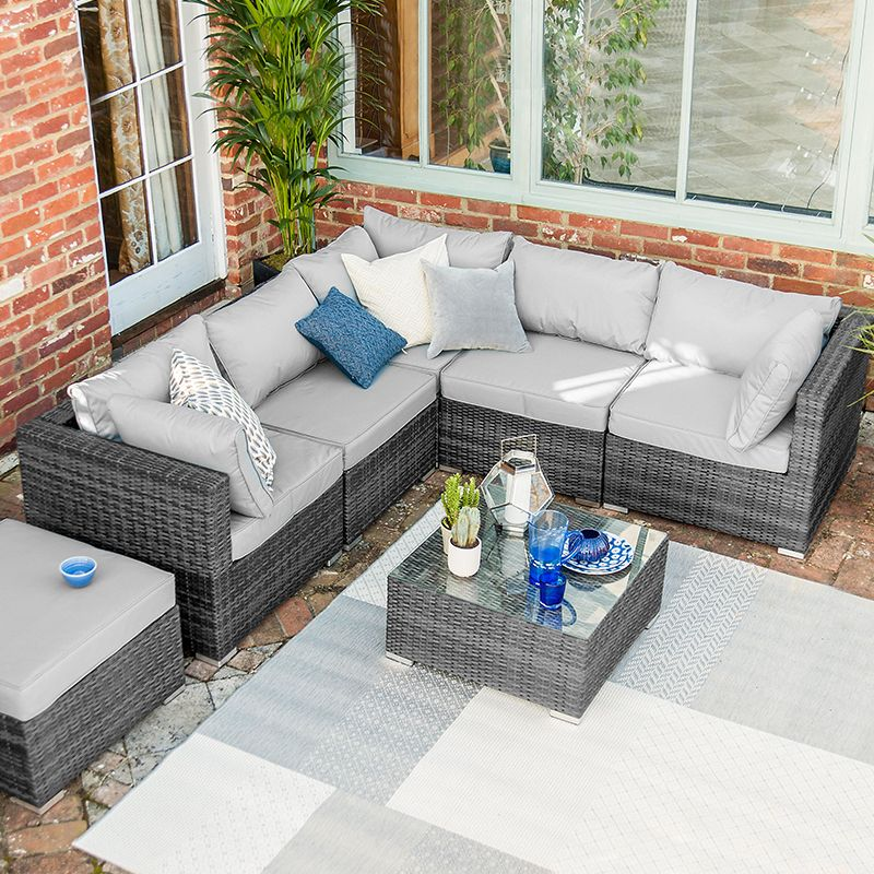 Chelsea Rattan Corner Sofa Set Rattan Corner Sofa Garden Sofa Rattan Garden Furniture