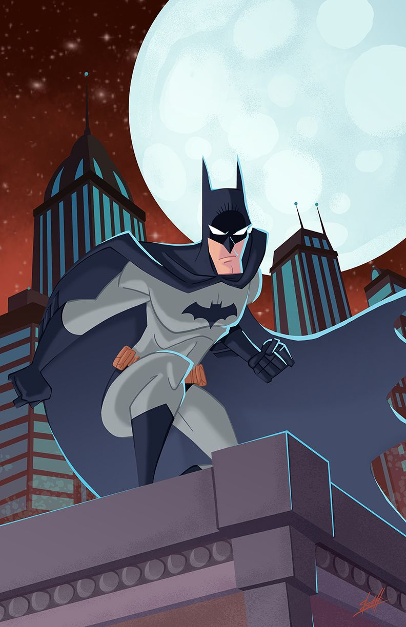 Batman By Natelovett On Deviantart Batman Illustration Batman Batman Art