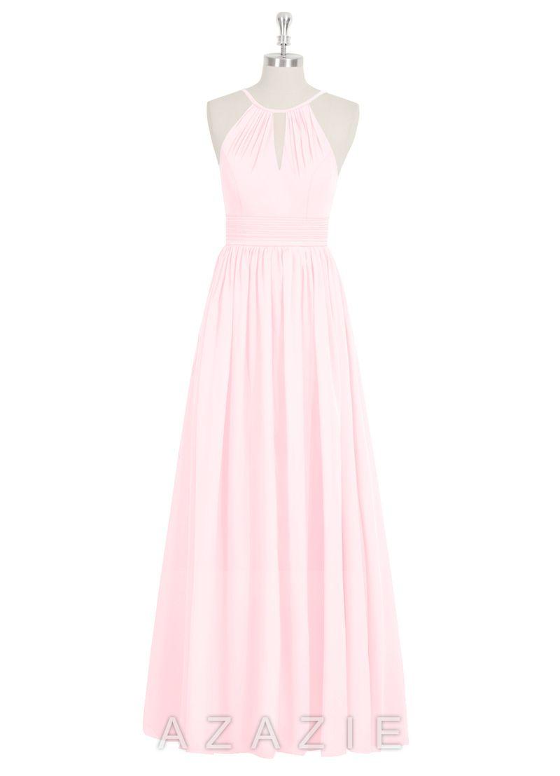AZAZIE CHERISH   Bridesmaid dressing gowns, Blush pink