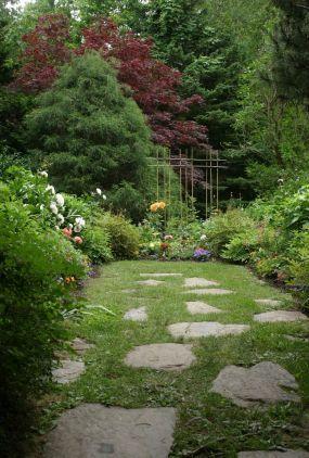 At The Vesper Hill Chapel Garden In Rockport Maine Garden