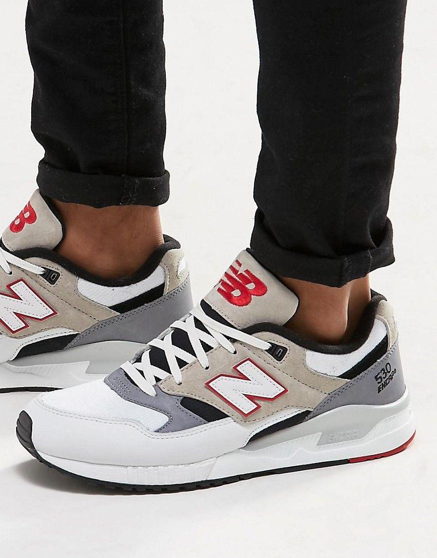 New Balance – 530 – Weiße Sneaker, M530LM   Pinterest   Fe 4833582a11