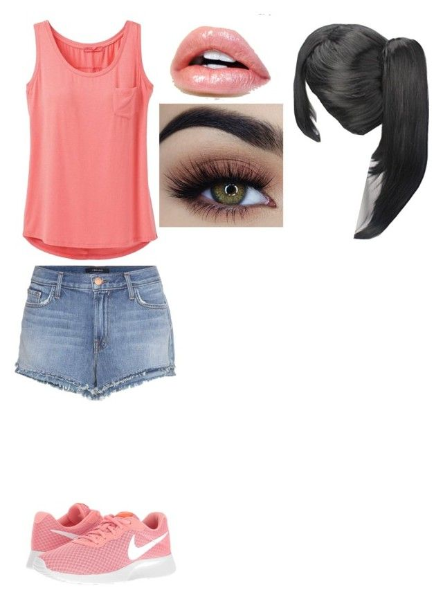 """""""Untitled #289"""" by alabear99 ❤ liked on Polyvore featuring prAna, J Brand and NIKE"""