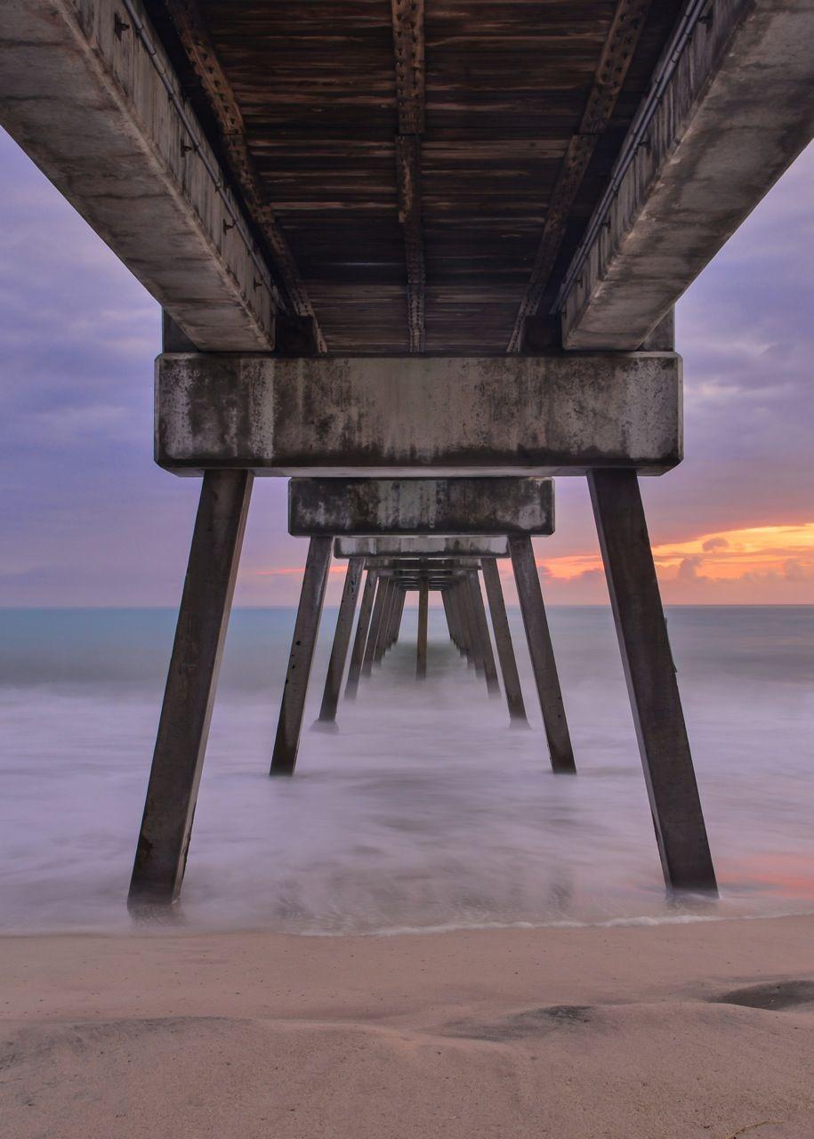 From Under The Vero Beach Pier Photographer Dale Sorensen Jr