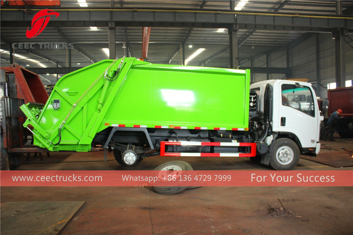 Trash Compactor Truck Trucks Compactor Truck Mounted Crane