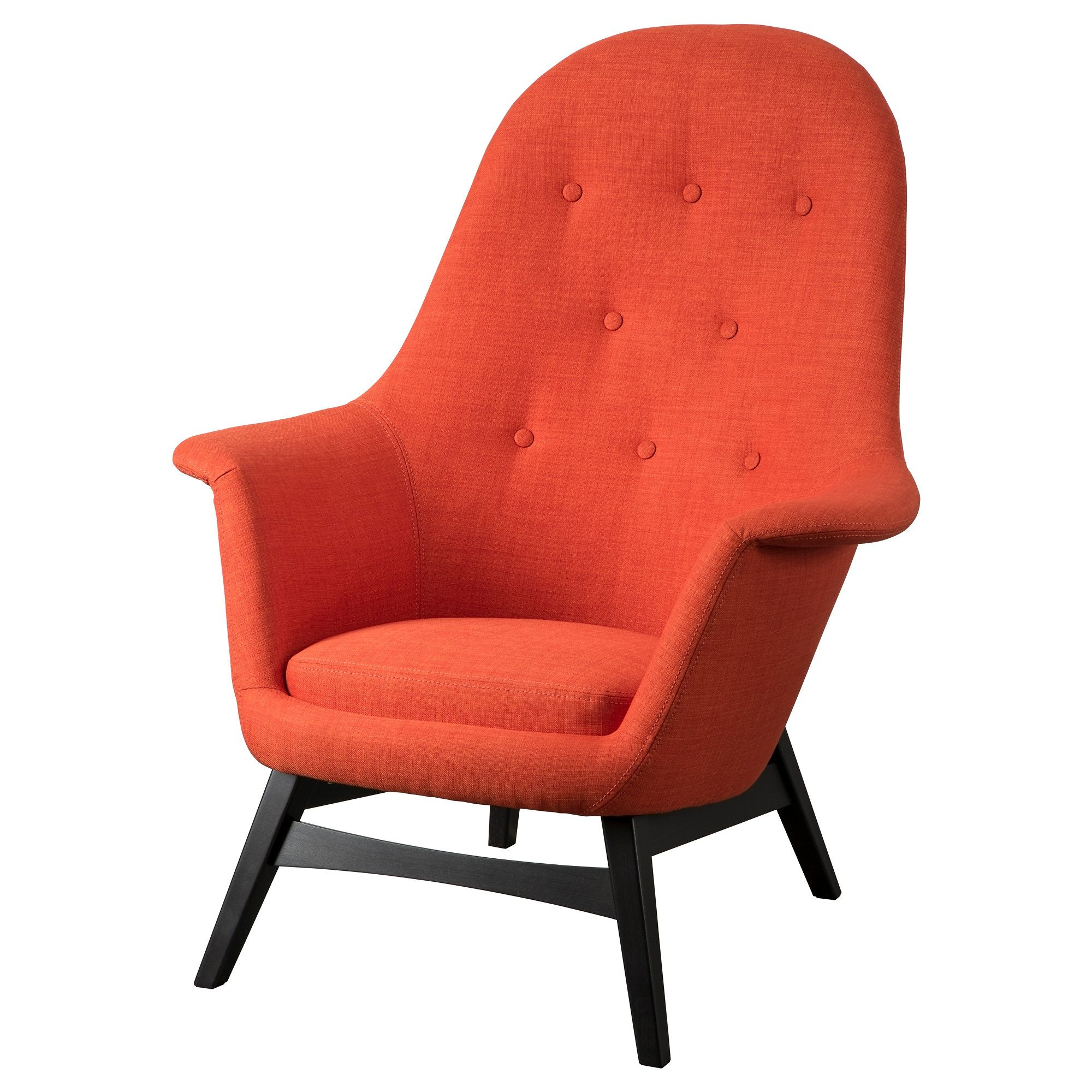 BENARP Armchair Skiftebo Orange