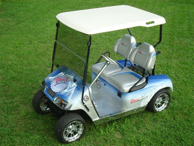 My Coors Light Golf Cart, currently for sale on ebay. | Dream Rides on golf trolley, golf girls, golf handicap, golf tools, golf machine, golf hitting nets, golf players, golf cartoons, golf buggy, golf words, golf games, golf card, golf accessories,