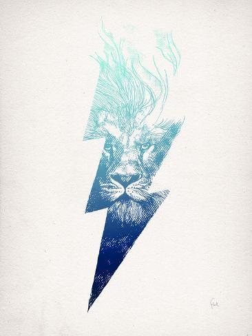 'King Of The Clouds' Giclee Print - David Fleck | Art.com