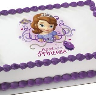 Order Sofia The First Kids Birthday Cake Photo Cake Online Georgia