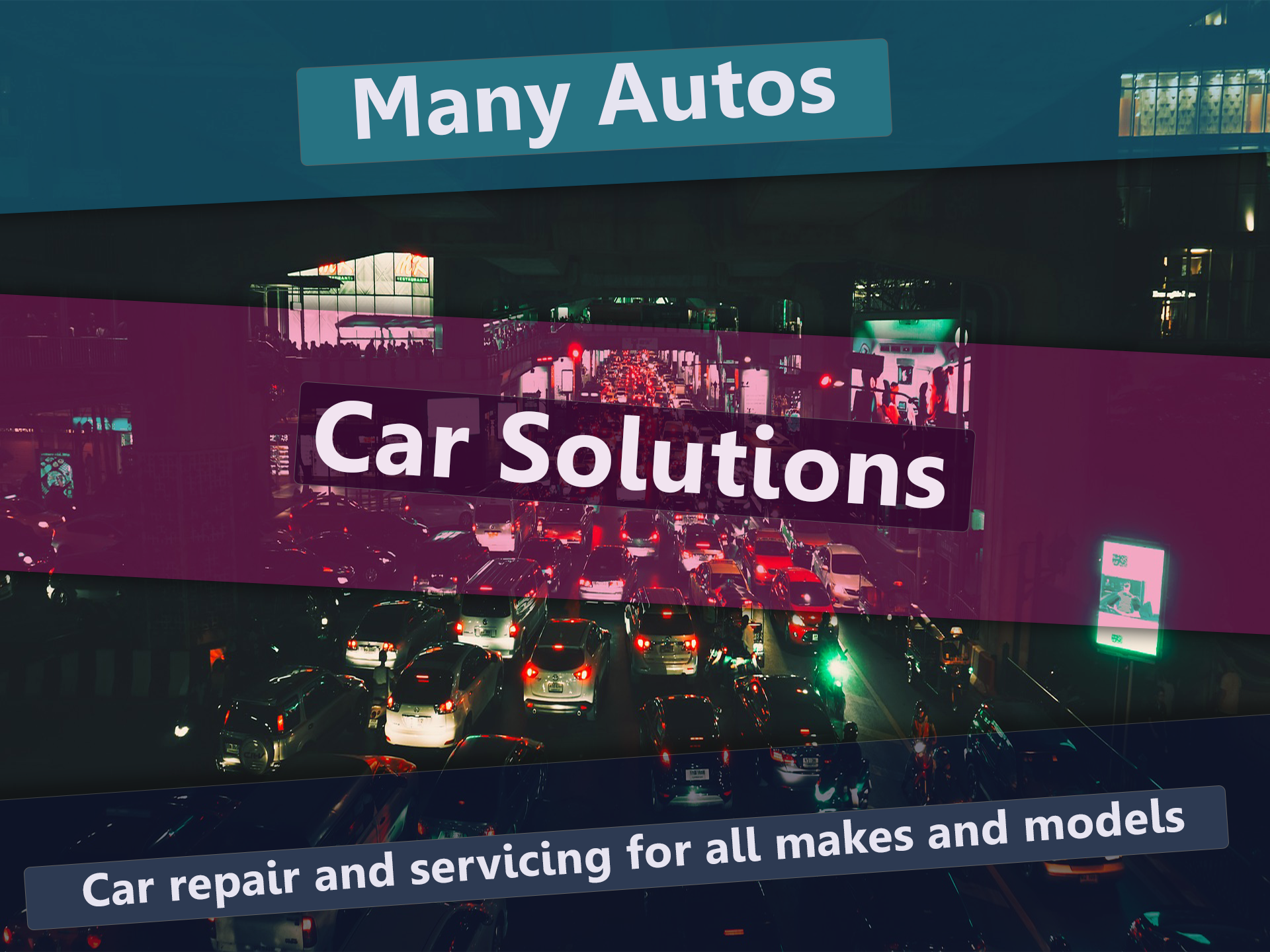 Many Autos All In One Car Solutions We offer car repair
