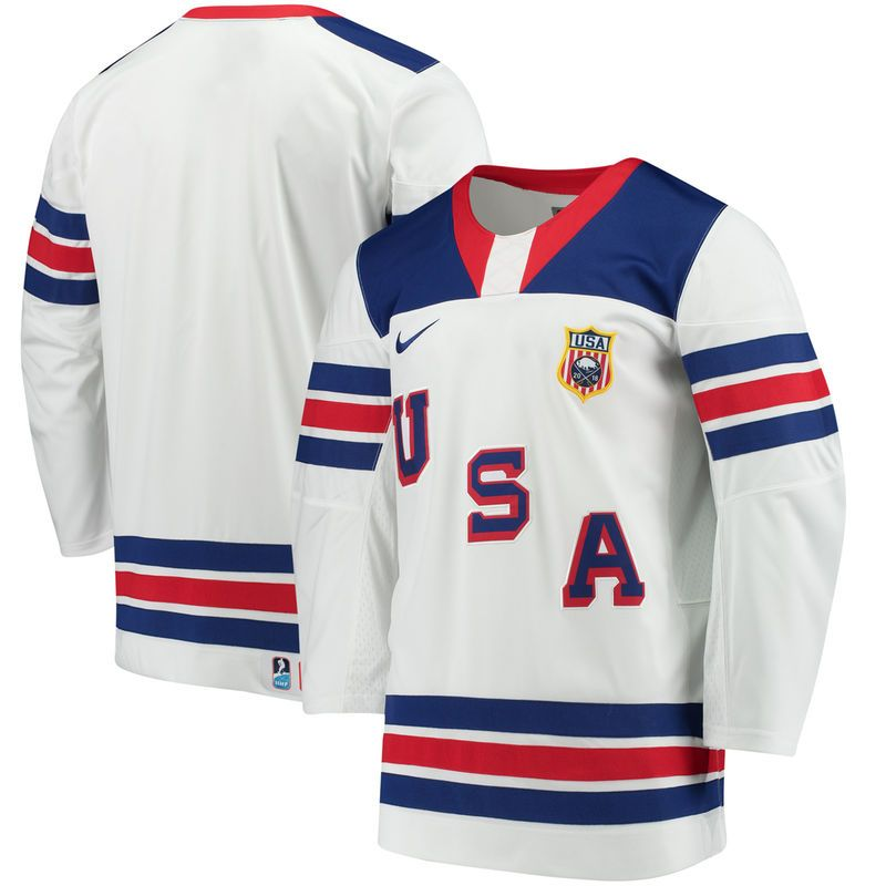 Us Hockey Nike 2018 World Juniors Championship Replica Jersey