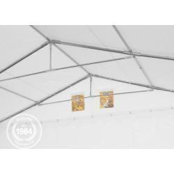Photo of Tente de stockage 6x16m Pvc 550 g / m² abri étanche gris, rangement ToolportToolport