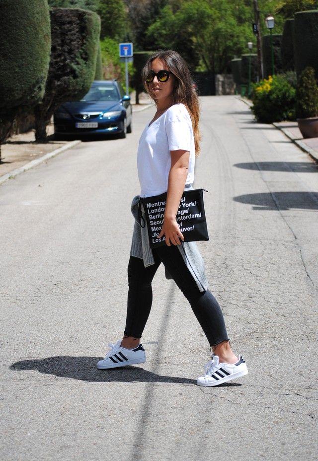 Looks con prendas blancas Adidas Trendtation