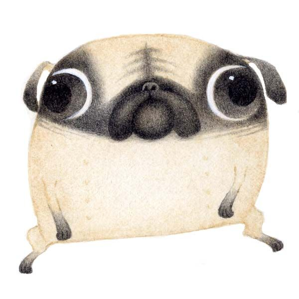 Fancy - Bill Carman's inventive characters Bill Carmen-Pug – Signature Illustration Blog > VERY VERY PUG