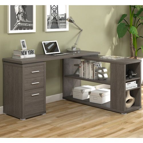 Found it at Wayfair - Olive L-Shape Computer Desk Office Space